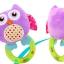 ตุ๊กตาผ้า นกน้อยเสริมพัฒนาการ Happy Monkey ห่วงเขย่า มือจับ thumbnail 13
