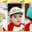 HT521••หมวกเด็ก•• / หมวกเบเร่ต์-ลิงขับเครื่องบิน [สีเบจ] thumbnail 5