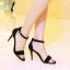 รองเท้าส้นสูงไซส์ใหญ่ ไซส์ 40 Suede Single-hued Strappy รุ่น KR0489 thumbnail 7