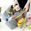 กระเป๋าช้อปปิ้งพับเก็บได้ ผ้าหนา สีสันสดใส ผลิตจากโพลีเอสเตอร์กันน้ำ คุ้มค่า (Street Shopper Bag) thumbnail 34