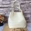 กระเป๋า MNG Shopper bag สีขาวครีม กระเป๋าหนัง เชือกหนังผูกห้วยด้วยพู่เก๋ๆ!! จัดทรงได้ 2 แบบ thumbnail 8