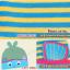 AP131••เซตหมวก+ผ้ากันเปื้อน•• / [สีเหลือง+ฟ้า] ปลา thumbnail 6