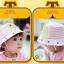 HT494••หมวกเด็ก•• / หมวกปีกกว้าง-ยิ้ม ยิ้ม (สีชมพู) thumbnail 3