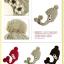 หมวกไหมพรมถัก กันหนาว ติดดอกไม้น่ารัก มีสายปอมปอมปิดหู thumbnail 3