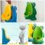 โถฉี่กบ เด็กชายหัดปัสสาวะ ติดผนัง-วางพื้นได้ รูปกบ/นก (มีกังหันน้ำ) thumbnail 1
