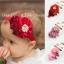 ผ้าคาดผมเจ้าหญิงแสนน่ารัก กลุ่มดอกไม้ติดเกสรไข่มุก ประดับโบว์เลื่อม งานระดับพรีเมี่ยม thumbnail 1