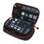 กระเป๋าใส่อุปกรณ์อิเล็กทรอนิกส์ สำหรับใส่อุปกรณ์ไอทีทุกชนิด มีสองชั้น ช่องเยอะพิเศษ มีหูหิ้วพกพาสะดวก มี 4 สีให้เลือก thumbnail 1