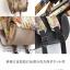 กระเป๋าเป้ Anello x Legato Largo Botanical & Cat nylon Cap fasteners Backpack Black Button รุ่นคลาสสิค thumbnail 9