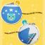 AP109••เซตหมวก+ผ้ากันเปื้อน•• / [สีชมพูอ่อน] น้องหมี thumbnail 8