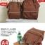 กระเป๋าเป้ Anello polyurethane Mini White thumbnail 5