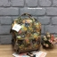กระเป๋าเป้ Anello x Legato Largo ; Botanical & Cat nylon Cap fasteners Backpack Beige Button thumbnail 1