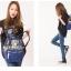 กระเป๋า Anello Cotton Backpack Flower Pattern ราคา 1,390 บาท Free Ems thumbnail 8