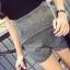 กางเกงขาสั้นผ้าลินินสีเทา ทรงสวยจ้า thumbnail 2
