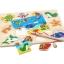 ของเล่นไม้ ชุดตกปลา จิ๊กซอ Magnetic fishing puzzle board thumbnail 4