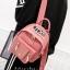 กระเป๋าเป้ Size L สีชมพู JTXS Backpack bag D.I.Y Denim Jeans spring summer high quality made in Hong Kong 2017...งานแท้นะคะ thumbnail 5