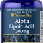 Alpha Lipoic Acid 300 mg 30 Softgels thumbnail 1