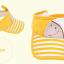 HT126••หมวกเด็ก•• / หมวกไวเซอร์ (เปิดศีรษะ) ม้าลาย [สีเหลือง] thumbnail 8