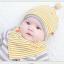 เซตหมวก+ผ้าซับน้ำลาย / ลาย Lovely Baby (มี 6 สี) thumbnail 13