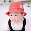 HT467••หมวกเด็ก•• / หมวกปีกกว้าง-นานาผัก (สีแดง) thumbnail 1