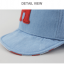 หมวกแก๊ป หมวกเด็กแบบมีปีกด้านหน้า ลายตัวอักษร H (มี 2 สี) thumbnail 11