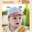 หมวกแก๊ป หมวกเด็กแบบมีปีกด้านหน้า ลายหมีน้อย (มี 4 สี) thumbnail 18