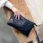 กระเป๋าสะพายข้างมินิ NEW SOFT LEATHER ROCK STUDDED CLUTCH แฟชั่นสไตล์ zara fashionista ราคา 790 ส่งฟรี ems thumbnail 1