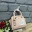 LYN Madison Bag สีชมพูโอรส กระเป๋าถือหรือสะพายทรงสวย รุ่นใหม่ล่าสุด วัสดุหนัง Saffiano thumbnail 8