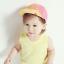 หมวกแก๊ป หมวกเด็กแบบมีปีกด้านหน้า ลาย HAPPY PRINCE (มี 2 สี) thumbnail 2