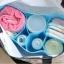 กระเป๋า bag in bag ช่องแบ่งของใช้เด็ก มีสีฟ้า/ชมพู thumbnail 2