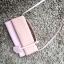 กระเป๋าเงิน กระเป๋าครัช Charles & Keith Top Handle Clutch Bag สีชมพู ราคา 1,090 บาท Free Ems thumbnail 4