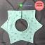 ผ้าซับน้ำลายเด็ก ผ้ากันเปื้อนเด็กเล็ก แบบ 360 องศา ปลายแฉก / ลายดาว 8 แฉก (มี 2 สี) thumbnail 2