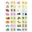 แฟลชการ์ดจับคู่ภาพ สีสดใสภาพน่ารัก เสริมสร้างทักษะภาษา thumbnail 10