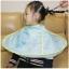 ผ้าคลุมตัดผมเด็ก แบบเก็บผมไม่ร่วงลงพื้น สำหรับเด็กวัย 0-12 ปี thumbnail 2