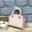 LYN Madison Bag สีชมพูโอรส กระเป๋าถือหรือสะพายทรงสวย รุ่นใหม่ล่าสุด วัสดุหนัง Saffiano thumbnail 9