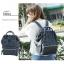 กระเป๋าเป้ Anello polyurethane leather rucksack รุ่น Mini/Classic อีกรุ่นที่กำลังเป็นที่นิยมกันในหมู่วัยรุ่นของประเทศญี่ปุ่นมาแล้วคร้า... ภายในมีช่องเล็ก2ช่อง เปิดปิดด้วยซิปคู่ ปากกระเป๋าเป็นโครงสัดวกต่อการหยิบจับ ด้านข้างมีช่องทั้ง2 thumbnail 12