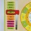 ของเล่นไม้เรียนรู้เวลา ตั้งแต่นาทีจนถึงฤดูกาลใน 1 ปี แบบปฏิทิน Wooden Daily Calendar Clock Board Toy thumbnail 13