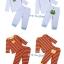 [แพค 2 ชุด] ชุดเสื้อแขนยาว+กางเกงขายาว สำหรับเด็กชายวัย 0-3/3-6/6-9/9-12/12-18/18-24 เดือน thumbnail 4