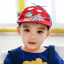 HT519••หมวกเด็ก•• / หมวกเบเร่ต์-ลิงขับเครื่องบิน [สีแดง] thumbnail 1