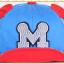 หมวกแก๊ป หมวกเด็กแบบมีปีกด้านหน้า ลาย M (มี 5 สี) thumbnail 7