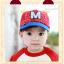 หมวกแก๊ป หมวกเด็กแบบมีปีกด้านหน้า ลาย M-มิกกี้ (มี 4 สี) thumbnail 2