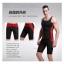 กางเกงออกกำลังกายผู้ชาย Men Fitness สีดำคาดแดง thumbnail 2
