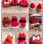SugarGang ชุดซานต้า+หมวก ไซส์ M (เด็กโตปกติ-ท้วม) thumbnail 2