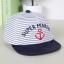 หมวกแก๊ป หมวกเด็กแบบมีปีกด้านหน้า ลาย SUPER MARINE (มี 4 สี) thumbnail 20