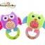 ตุ๊กตาผ้า นกน้อยเสริมพัฒนาการ Happy Monkey ห่วงเขย่า มือจับ thumbnail 3