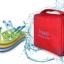 กระเป๋าใส่อุปกรณ์อาบน้ำ คุณภาพดี สำหรับเดินทาง ท่องเที่ยว แขวนได้ กันน้ำ แข็งแรง ทนทาน thumbnail 21