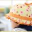 HT481••หมวกเด็ก•• / หมวกปีกกว้าง-กระต่าย (สีส้ม) thumbnail 4
