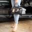 กระเป๋า David Jones กระเป๋าสะพายข้างดีไซน์เกร๋มาก สีดำเงาสวยหรูมาก ขนาดกะลังดีเลย thumbnail 9