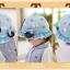 หมวกเด็กปีกกว้าง หมวกซันเดย์ ประดับปอยผม ลายกระต่ายน้อย (มี 3 สี) thumbnail 10