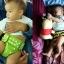 กางเกงผ้าอ้อมซักได้ ชาโคลใยไผ่ Nana Baby Bamboo Charcoal Diaper thumbnail 7