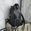 KEEP genuine Leather Mini Chic Backpack Classy Black #ใบนี้หนังแท้เลยค่ะ thumbnail 2